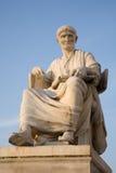 Vienne - statue de Salustius d'historien photographie stock