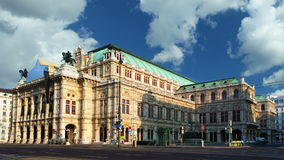 Vienne - théatre de l'$opéra banque de vidéos