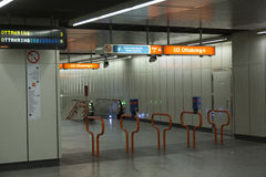Vienne U-Bahn Photos stock