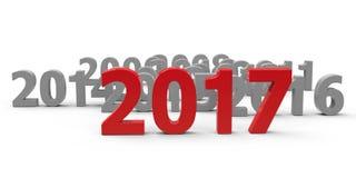2017 viennent #2 illustration de vecteur