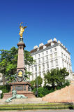 Viennese architecture stock photography