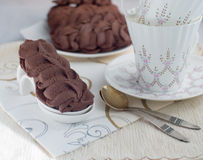 Viennese biscuits Stock Images