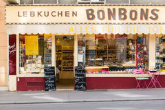 Viennese candy store, Vienna, Austria Royalty Free Stock Photos