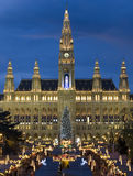 Viennese Christmas fair Stock Photography