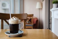 Viennese coffee Royalty Free Stock Photo