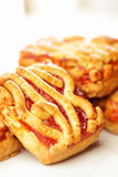 Viennese cookies Royalty Free Stock Images
