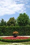 Viennese garden stock photography