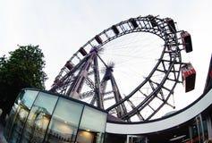 Viennese giant ferris wheel Royalty Free Stock Photo