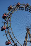 Viennese giant wheel in the Prater Park Royalty Free Stock Images