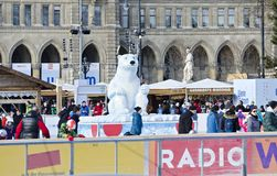 Viennese ice dream Stock Photo