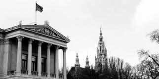 Viennese Landmarks Stock Image