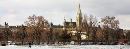Viennese Landmarks Royalty Free Stock Photos
