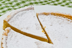 Viennese Lemon Tart Stock Photography