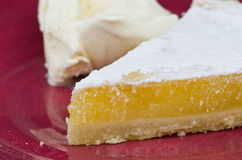 Viennese Lemon Tart Royalty Free Stock Image