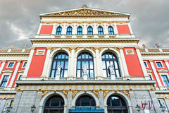 Viennese Music Association Stock Photography