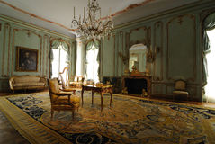 Viennese Room Interior. A room from the Palais Paar, a hotel in Vienna, Austria. Now on display a the metropolitan museum of art in New York City Royalty Free Stock Images