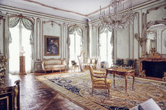 Viennese Room Interior in Metropolitan Museum of Art Royalty Free Stock Photos