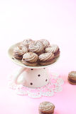 Viennese Sable Cookies Royalty Free Stock Photos