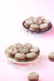 Viennese Sable Cookies Royalty Free Stock Images