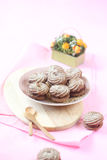Viennese Sable Cookies Royalty Free Stock Photography