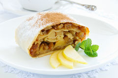 Viennese strudel Stock Photos