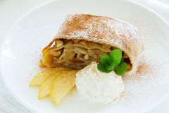 Viennese strudel Stock Images