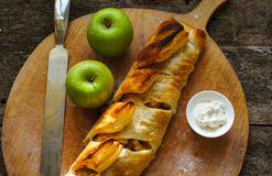 Viennese strudel Royalty Free Stock Image