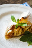 Viennese strudel Royalty Free Stock Photography