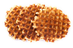 Viennese Wafer biscuit isolated Royalty Free Stock Photography