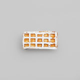 Viennese waffles Royalty Free Stock Photo