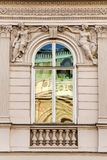 Viennese window Stock Photo