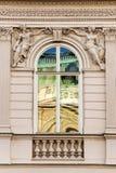 Viennese window Stock Photo