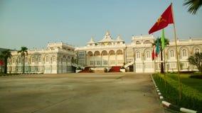 Vientián Laos, edificio presidencial almacen de video