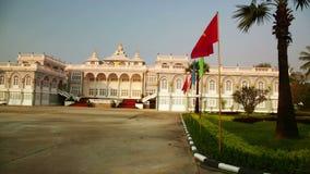 Vientián Laos, edificio presidencial almacen de metraje de vídeo