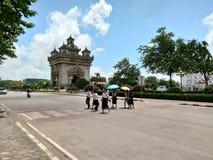 Vienti?n Laos imagenes de archivo