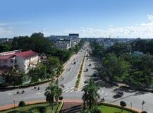 Vientiane au Laos Photographie stock