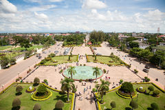 Vientiane, capital of Laos. Royalty Free Stock Photo