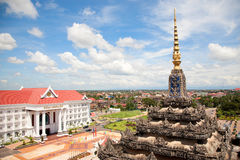 Vientiane, capital of Laos. Royalty Free Stock Image