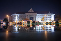 Vientiane - the capital of Laos Stock Photo
