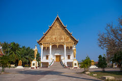 Vientiane - the capital of Laos Stock Image