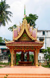 Vientiane - the capital of Laos. Temple at the Vientiane, Laos - old city Royalty Free Stock Images