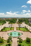 Vientiane cityscape Royalty Free Stock Photos
