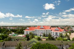 Vientiane cityscape Royalty Free Stock Images