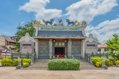 Vientiane Fude tempel royaltyfri bild