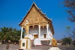 Vientiane - huvudstaden av Laos Royaltyfri Bild