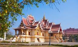 Vientiane - huvudstaden av Laos Royaltyfri Fotografi