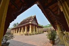 Vientiane, Laos. Wat Si Saket, Vientiane, Laos Stock Photography