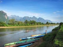 Vientiane-loas stockfotos