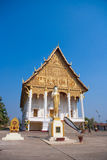 Vientiane. The most important national monument in Laos, Pha That Luang in Vientiane. Pha That Luang (Great Stupa, Great Sacret Reliquary) is a symbol of both Royalty Free Stock Image