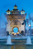 Vientiane At Night Stock Photography